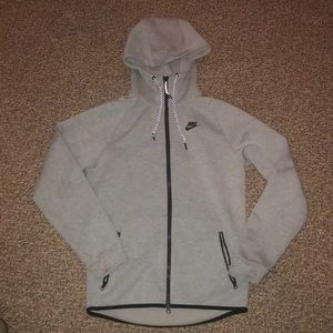 Gray Nike Zip-Up